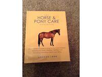 Horse and pony care handbook