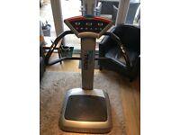 Body train vibro plate 500w exercise machine