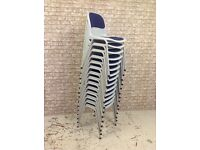 14 stacking chairs job lot