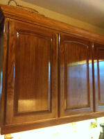 Re-new your old kitchen cabinets in one day