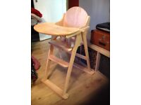 East Coast wooden highchair