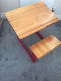 Children's Wooden Desk