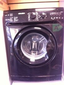 Bush black washing machine