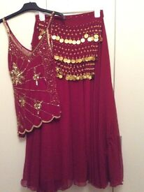 BELLY DANCE COSTUME - small