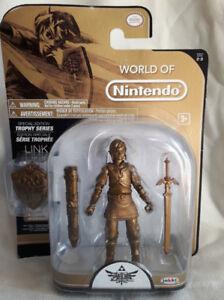 World of Nintendo Zelda Trophy Series Gold Link