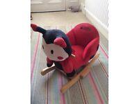 Babyweavers rocking ladybird