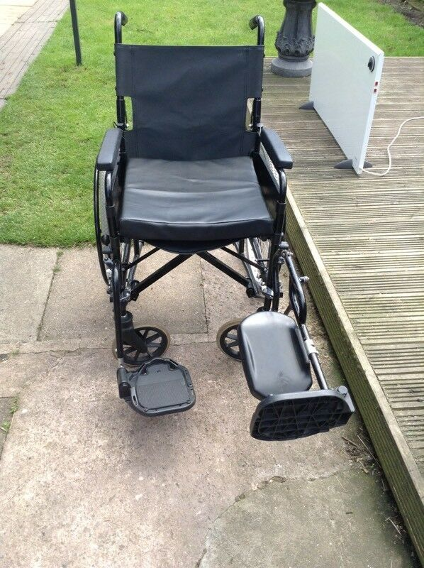 Wheelchair With Left Leg Extension In Kenilworth