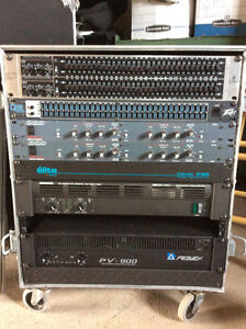 ASSORTED RACK GEAR - EQ'S/CROSSOVERS