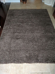 Beautiful Brown Shag Rug - 8 ft x 10 ft