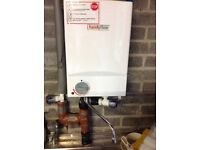 New Electric over sink water heater