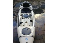 Fishing kayak ,in pristine condition,
