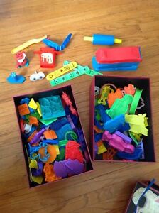 Play Doh & shapes