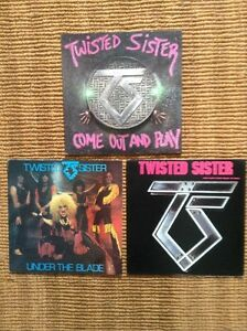 Twisted Sister LPs