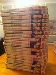 Collection presque complète du manga Fruits Basket