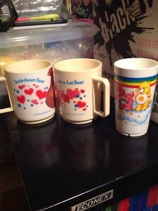 Care Bears and smurfs childrens cups  London Ontario image 2