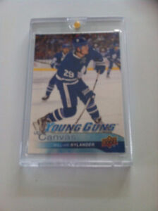 2016-17 UPPER DECK  SERIES TWO - YOUNG GUNS UD CANVAS