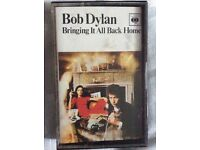Bob Dylan cassette collection (25)