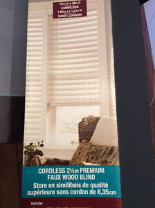 NEW Faux Wood Plantatian Blinds from Bouclair