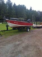 16 foot crest liner boat