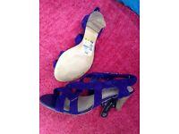 M&S purple sandles