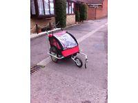Kids Double bike trailer/stroller