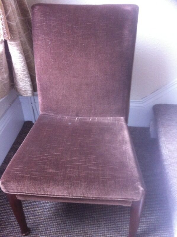 Vintage Parker Knoll Chair Chocolate Brown Completely