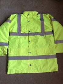 BRAND NEW DICKIES HIGH VISIBILITY WARNING SUITE