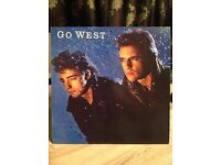 GO WEST LP - 1985 - CHR 1495