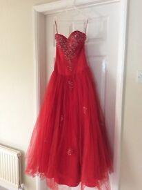 Beautiful Red Prom/Bridesmaid Dress