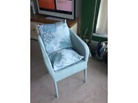 Chair and cushions