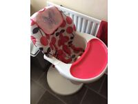 Cosatto 3 sixti high chair cherry pop