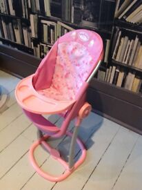 Baby Annabell high chair