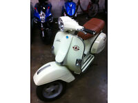 LML Star 125 Auto. Retro Italian looking scooter