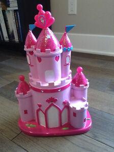 banque château pour chambre de princesse