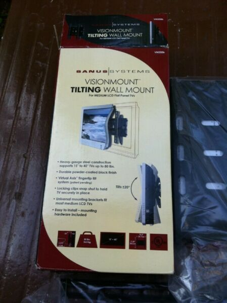 Sanus TV tilting Wall mount. Brand new and never used before.