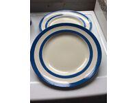 Original Cornishware plates