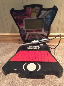 Electronic Star Wars Math and Spelling laptop Darth Vader