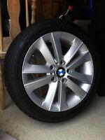 Pneus d'hiver et jantes BMW  205/50R1789H Bridgestone Blizzak