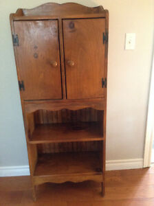 Wooden Shelf with Doors