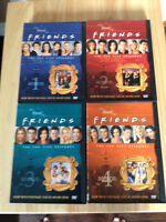 FRIENDS sitcom - Seasons 1, 2, 3, and 4