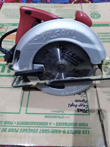 Skilsaw and Corded Drill
