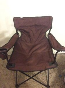 2 CAMPING CHAIRS ON SALE! $5.00 EACH ONE! SEE PICTURE