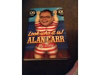 Alan Carr hard back book
