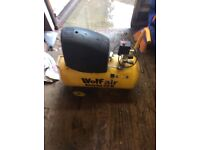 Wolf air compressor Spares or repairs