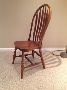 Solid Oak Dining Table & Chairs Kitchener / Waterloo Kitchener Area image 4