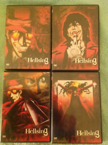 Hellsing 4 DVD 13 episode original series (pre Ultimate)