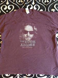 The Big Lebowski T-shirt XL - The Dude Abides