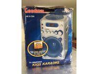 Goodmans kids karaoke + microphones