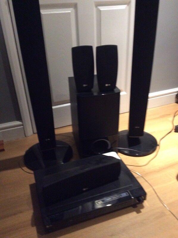 LG surround sound system dvd