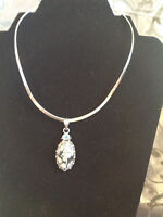 Sterling Collar Necklace with Pendant